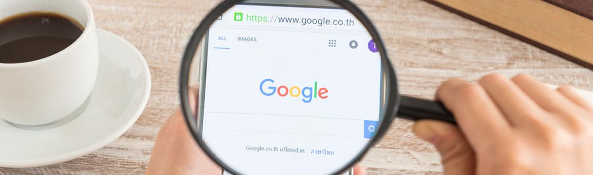 Posicionamiento de sitios web en GOOGLE