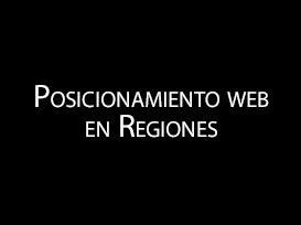 Posicionamiento web en Regiones